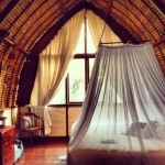 interior bedroom view at Bali Purnati