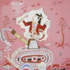 pink painting by Ketut Teja Astawa