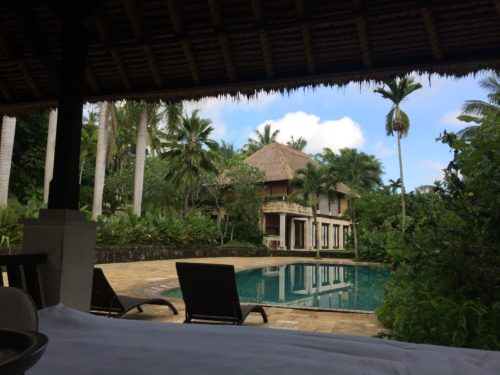 pool view of Bali Purnati