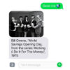 "Screenshot of SFMOMA's ""Send Me"" project for your cell phone showing Bill Owens' ""World Savings Opening Day"" photograph"